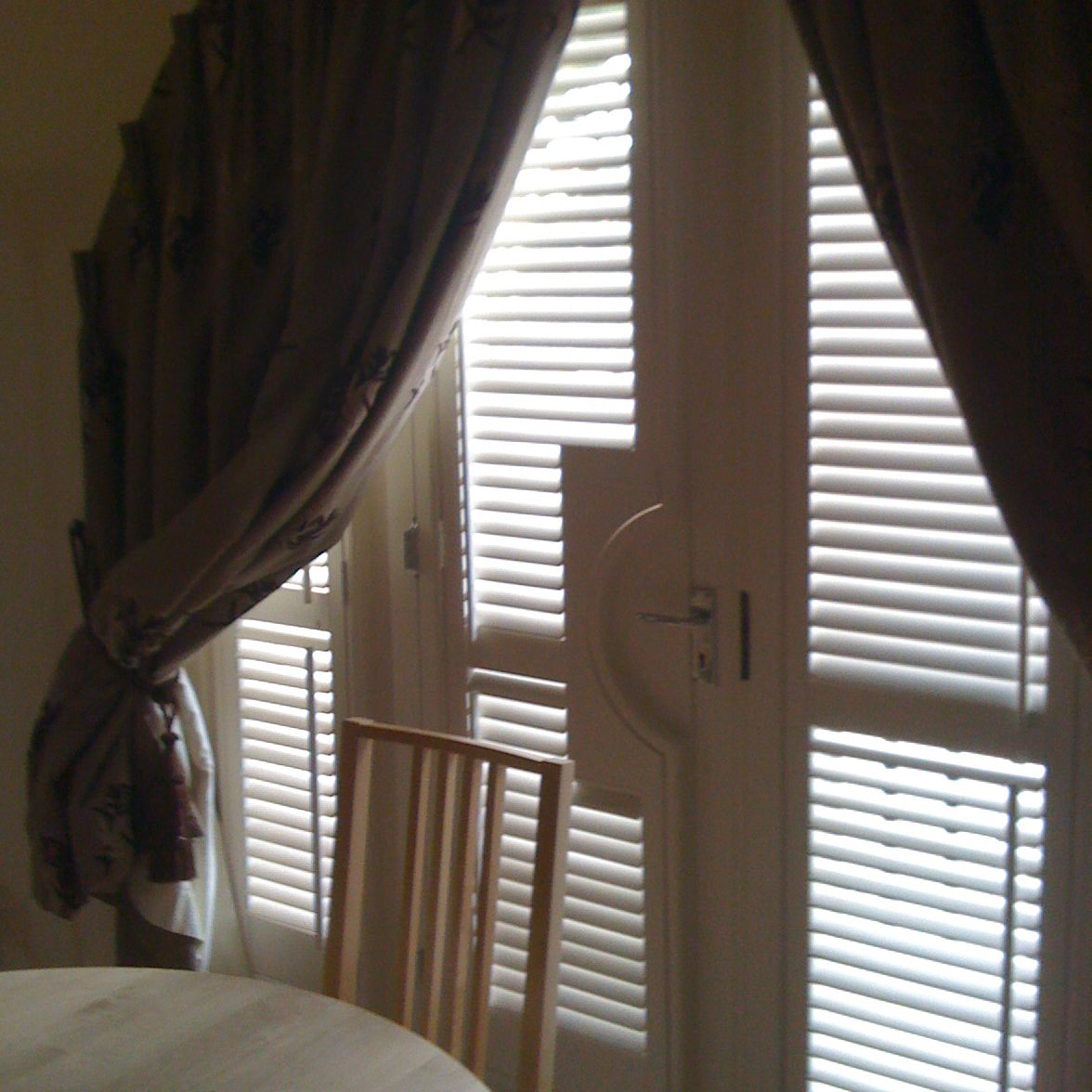 French Door Shutters Beehive Shutters